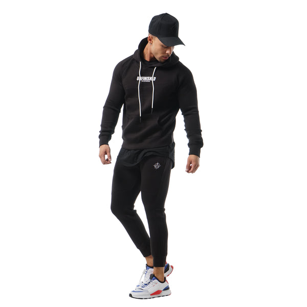 Elite Unfinished Business Hoodie - Black/White