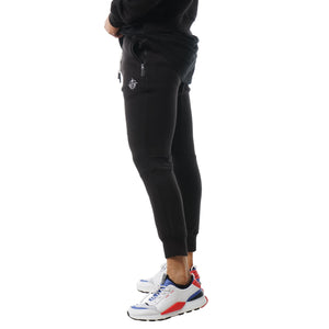 Elite Unfinished Business Trackies - Black/White