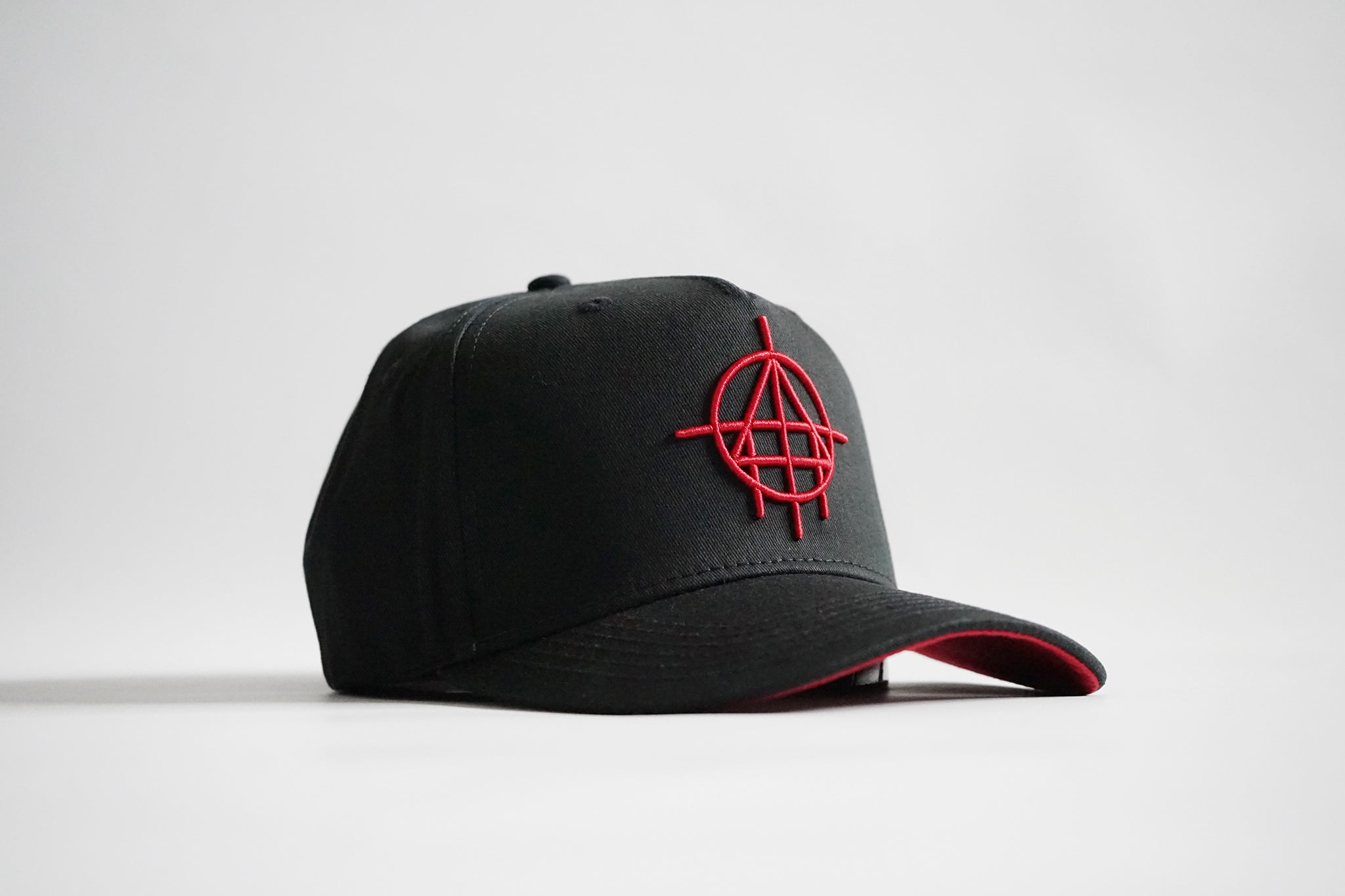 Baller 1.0 Aframe Snapback (Black/Red)