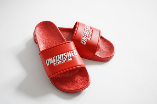 Cali Unfinished Business Slides (Red)