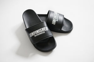 Cali Unfinished Business Slides (Black)