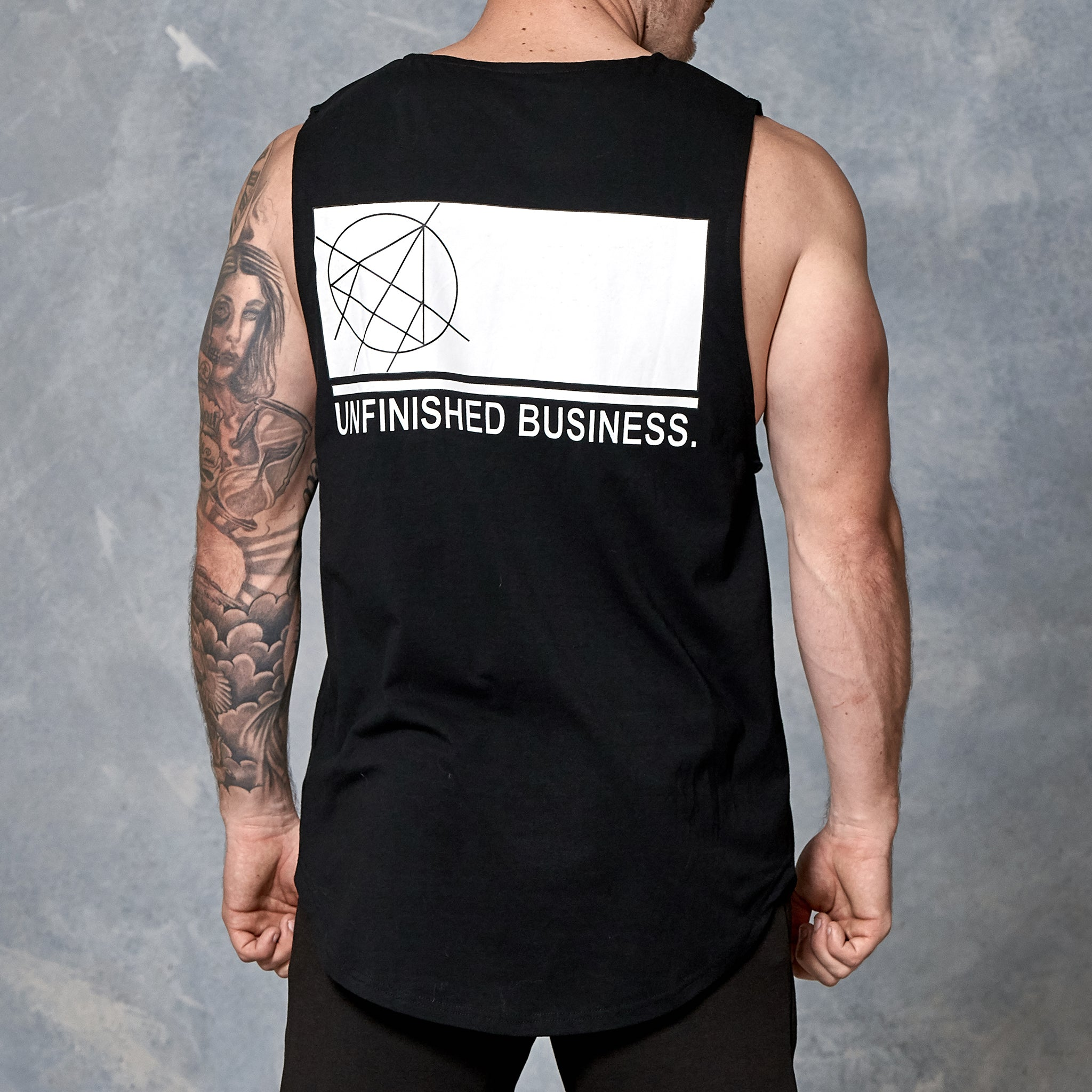 UNFINISHED BUSINESS MUSCLE TANK