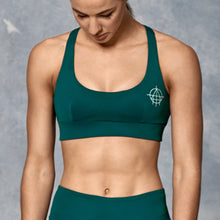 'Teal' Unfinished Business Gym Bra