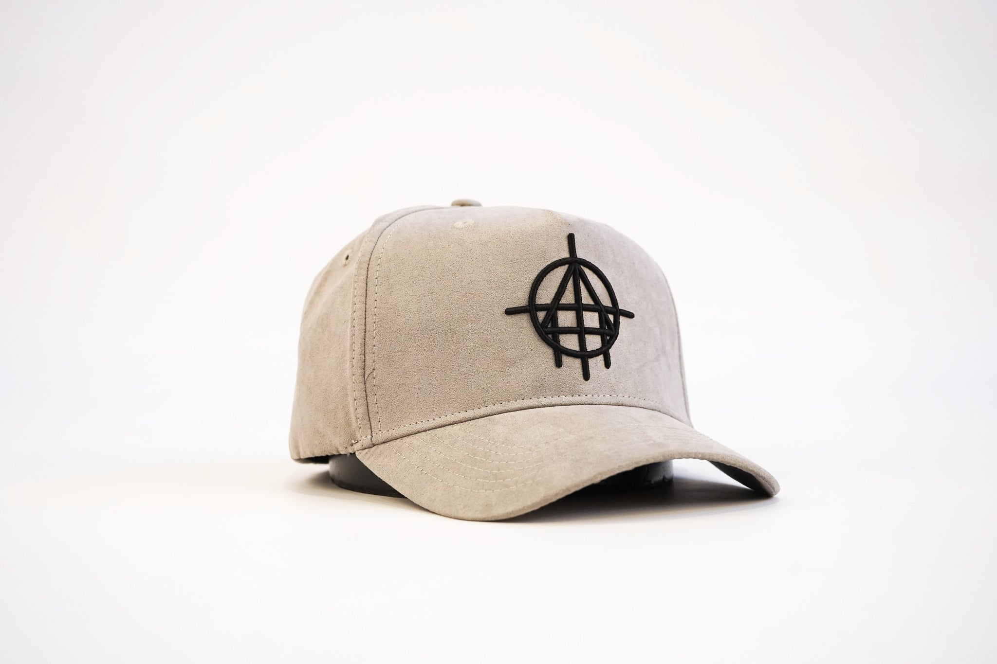 Suede Custom Unfinished Business Snapback (Stone)
