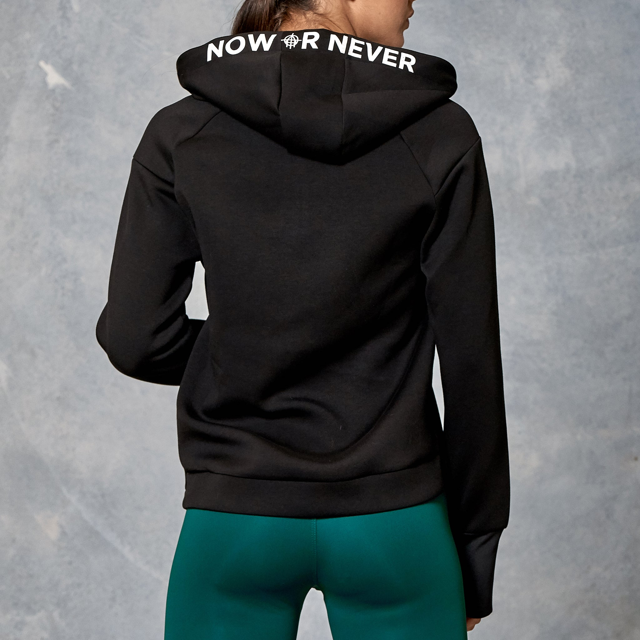 UNFINISHED BUSINESS WOMEN'S SCUBA NECK HOODIE
