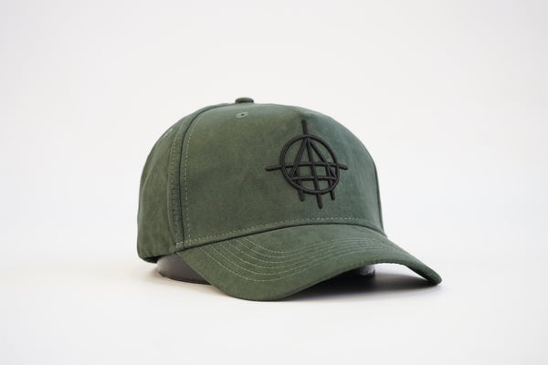 Suede Custom Unfinished Business Snapback (Khaki)