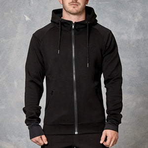 UNFINISHED BUSINESS MEN'S SCUBA NECK HOODIE