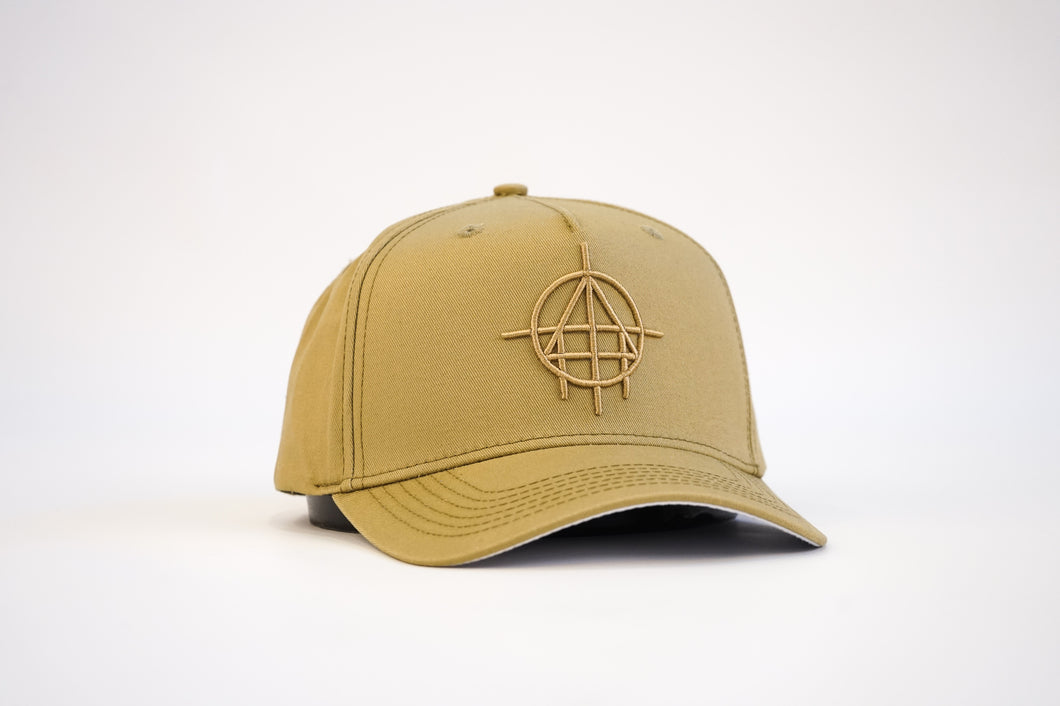 Unfinished Business Elite Aframe Snapback (Sand)