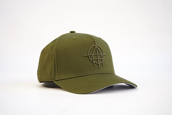 Unfinished Business Elite Aframe Snapback (Olive)