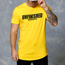 S2 Zesty Lemon Unfinished Business Curved Hem Tee
