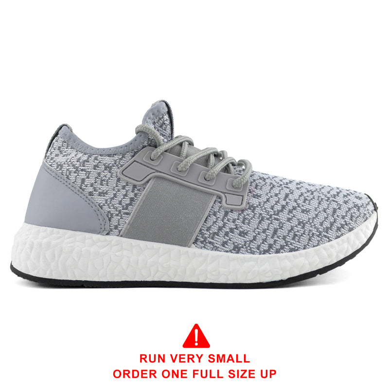 Women's Lightweight Running Tennis Shoes Athletic Sneakers GREY