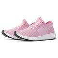 ROF  Lightweight Flyknit Low Top Lace Up  Sneaker PINK