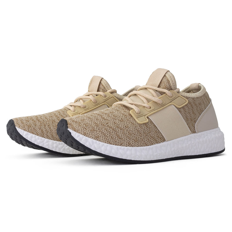 Women's Lightweight Running Tennis Shoes Athletic Sneakers TAUPE