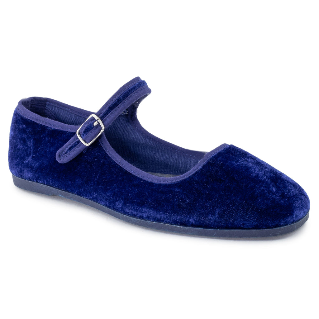 Mary Jane Ballet Flats Slip On Ballerina Flat Shoes NAVY