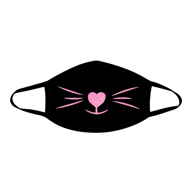 MEOW-ZA Neon UV Pink Face Mask (Non-medical)