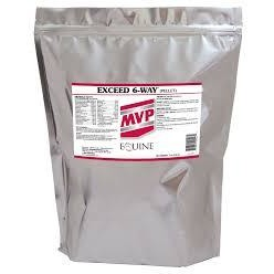 MVP Exceed 6-way pellets 8lb bag.