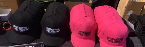 BHR Hat - Black / Pink