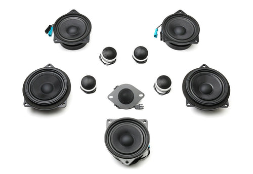 Bavsound Stage One Speaker Upgrade for Toyota Supra MKV with JBL Audio