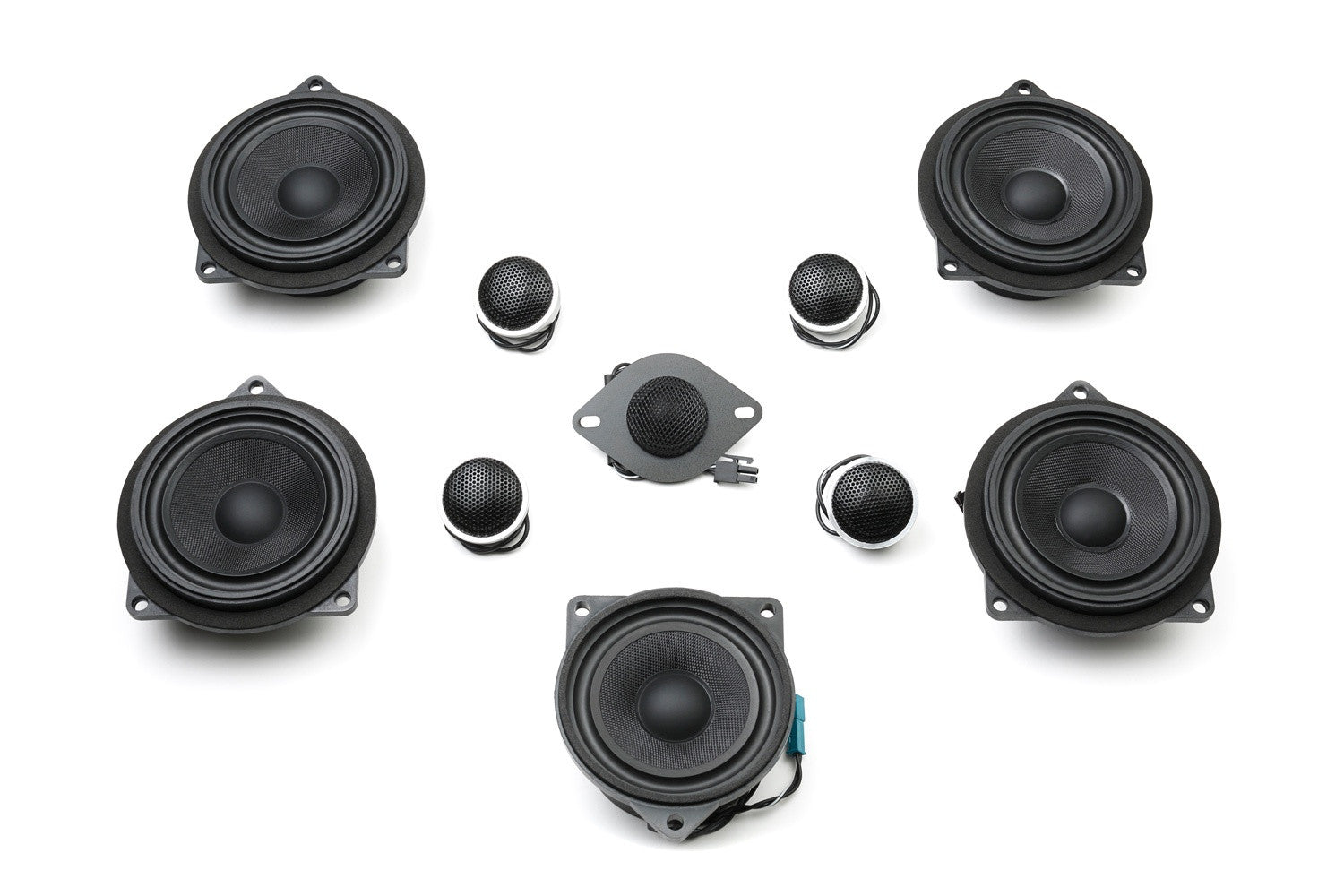 Stage One BMW Speaker Upgrade for F23 Convertible with Harman Kardon