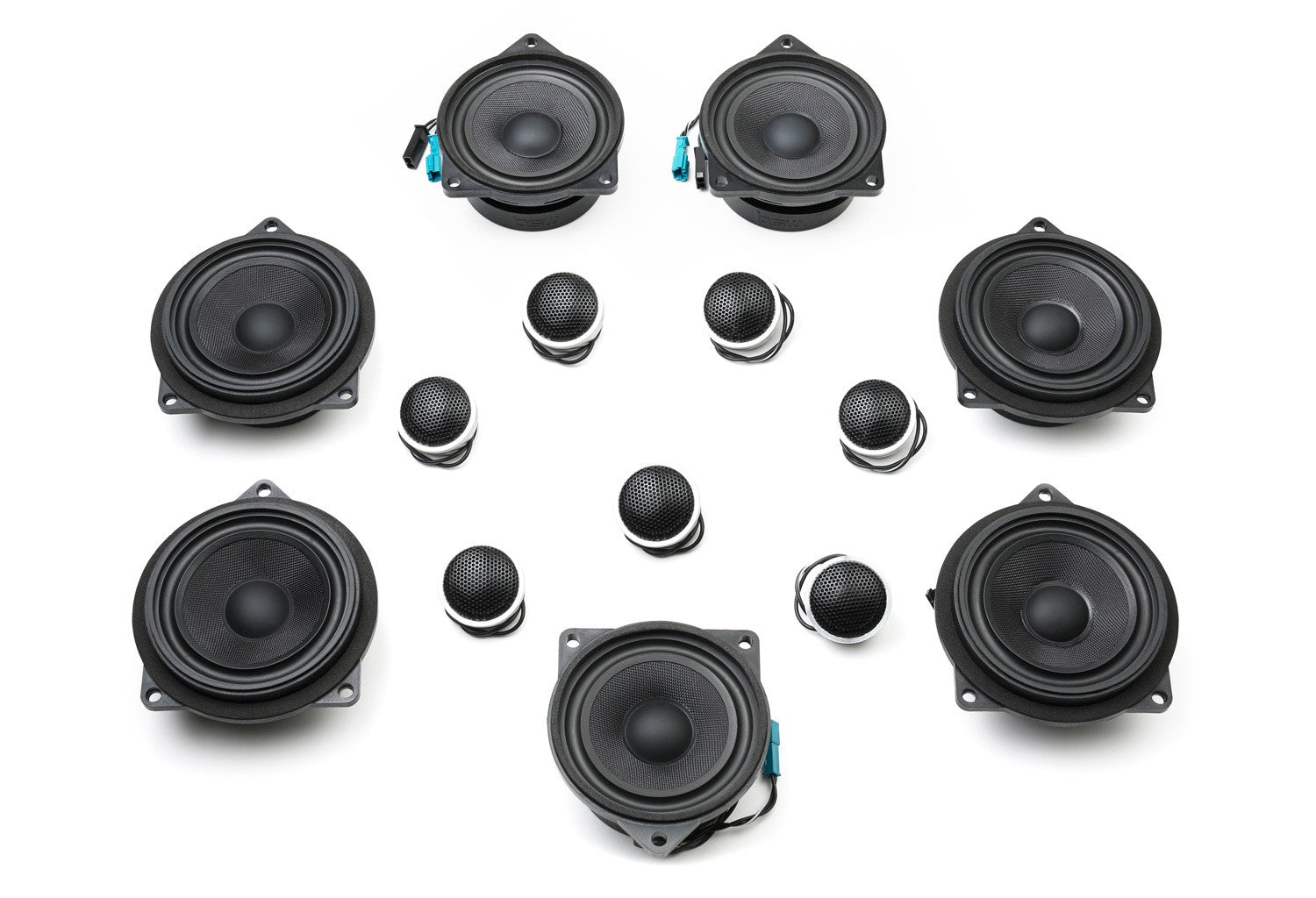 Stage One BMW Speaker Upgrade for F25 X3 with Harman Kardon