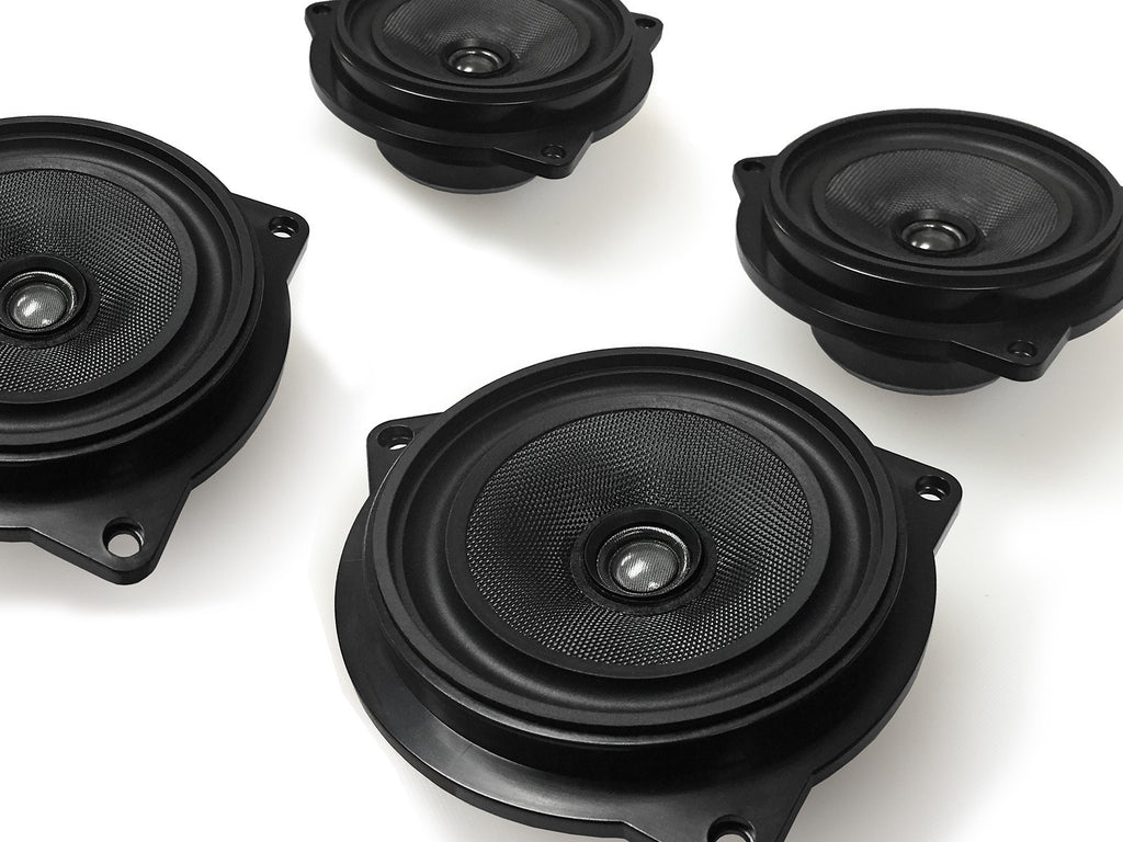 Coaxial Stage One BMW Speaker Upgrade for F48 X1 with Base Audio