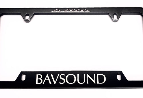 Bavsound License Plate Frame