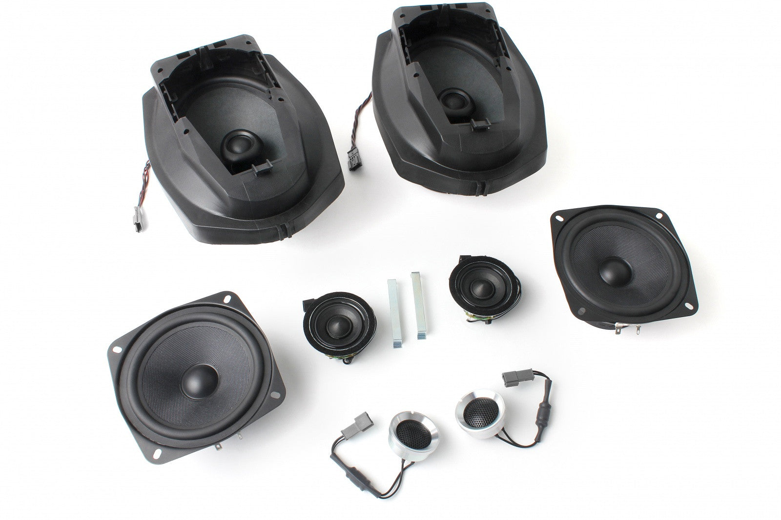 BMW Speaker Upgrade for 1996-1999 E36 Coupe/Sedan with Standard Hi-Fi