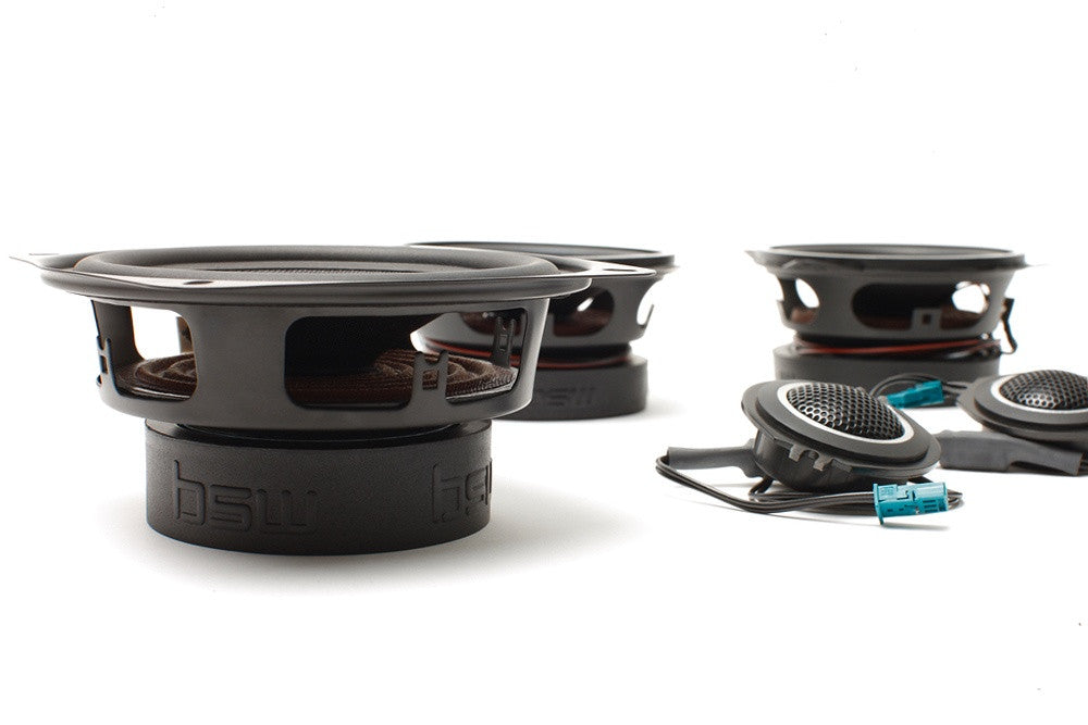 "DISCONTINUED BMW Speaker Upgrade for F36/7 Z3 Roadster with 2.5"" Rear Speakers"