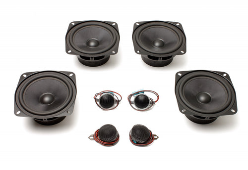 BACKORDERED: SHIPS AUGUST Stage One BMW Speaker Upgrade for 1996-2003 E39 Sedan/Wagon