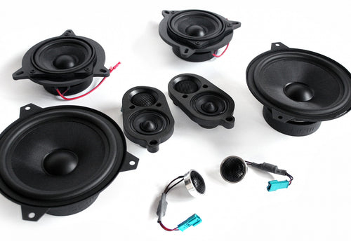 BMW Speaker Upgrade for E46 Convertible with Harman Kardon
