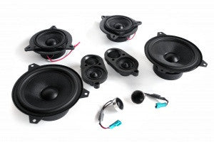 BMW Speaker Upgrade for E46 Convertible with Standard Hi-Fi