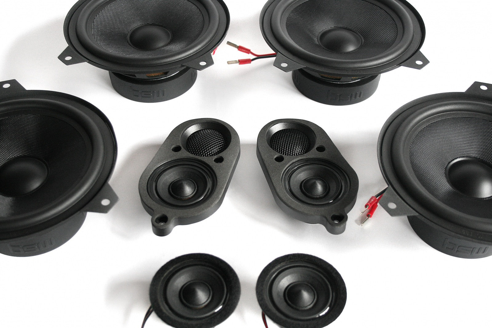 BMW Speaker Upgrade for E46 Coupe with Harman Kardon