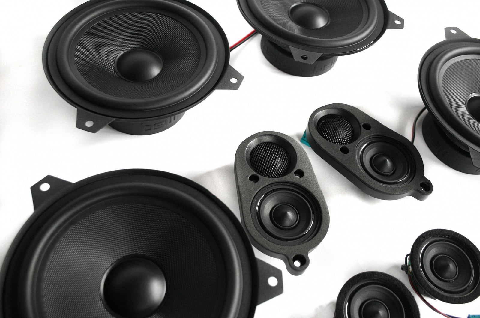 BMW Speaker Upgrade for E46 Coupe with Standard Hi-Fi