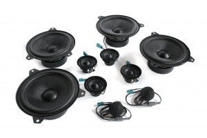 Stage One BMW Speaker Upgrade for E46 Sedan with Harman Kardon