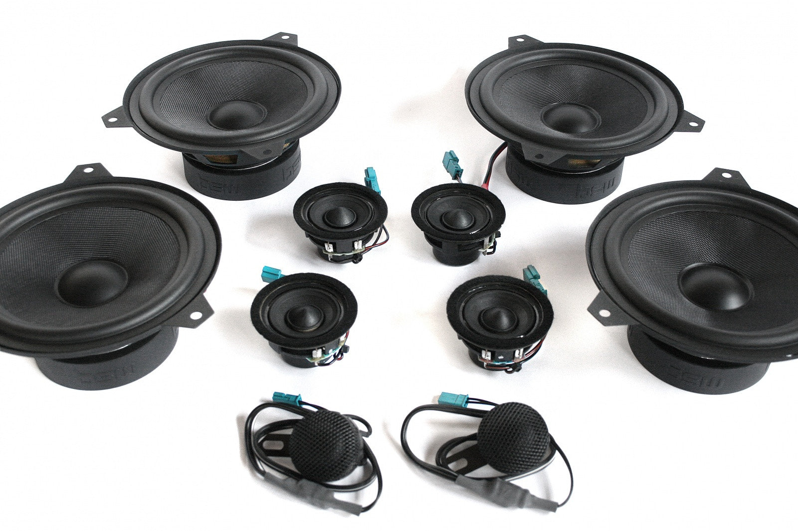 BMW Speaker Upgrade for E46 Sedan/Wagon with Standard Hi-Fi