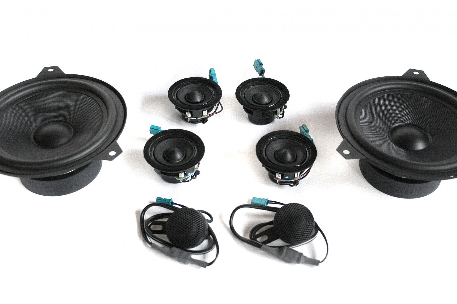 Stage One BMW Speaker Upgrade for E46 Wagon with Harman Kardon