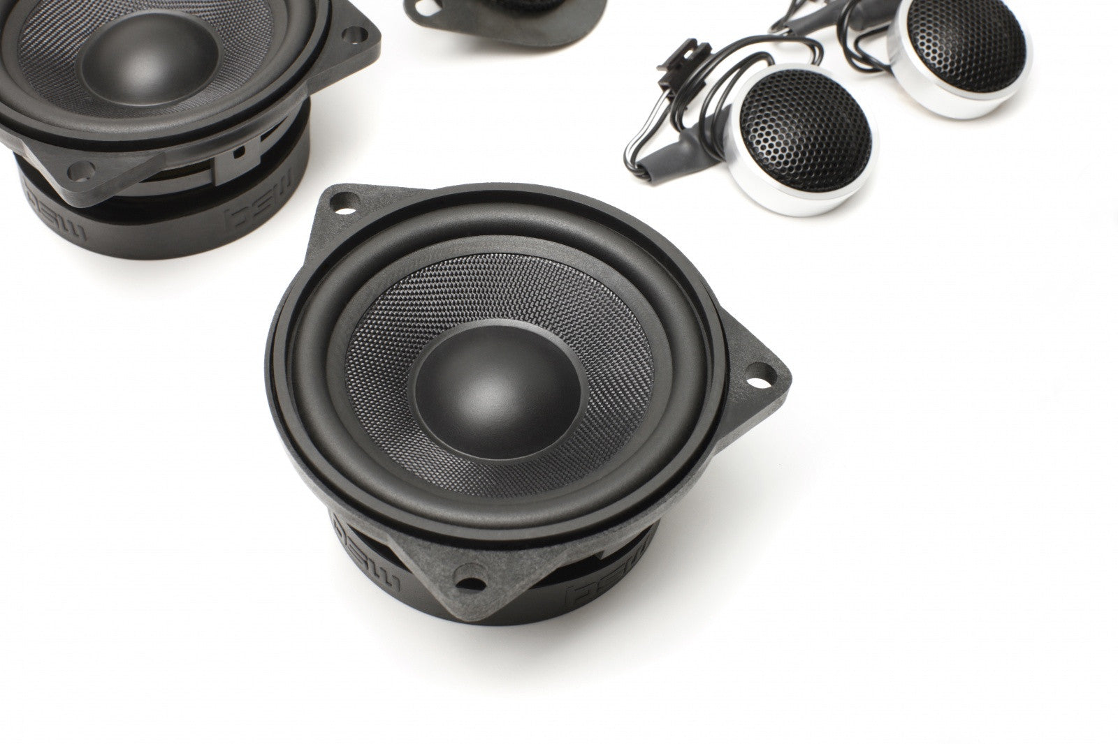 Stage One BMW Speaker Upgrade for E60/E61 Sedan/Wagon with Standard Hi-Fi