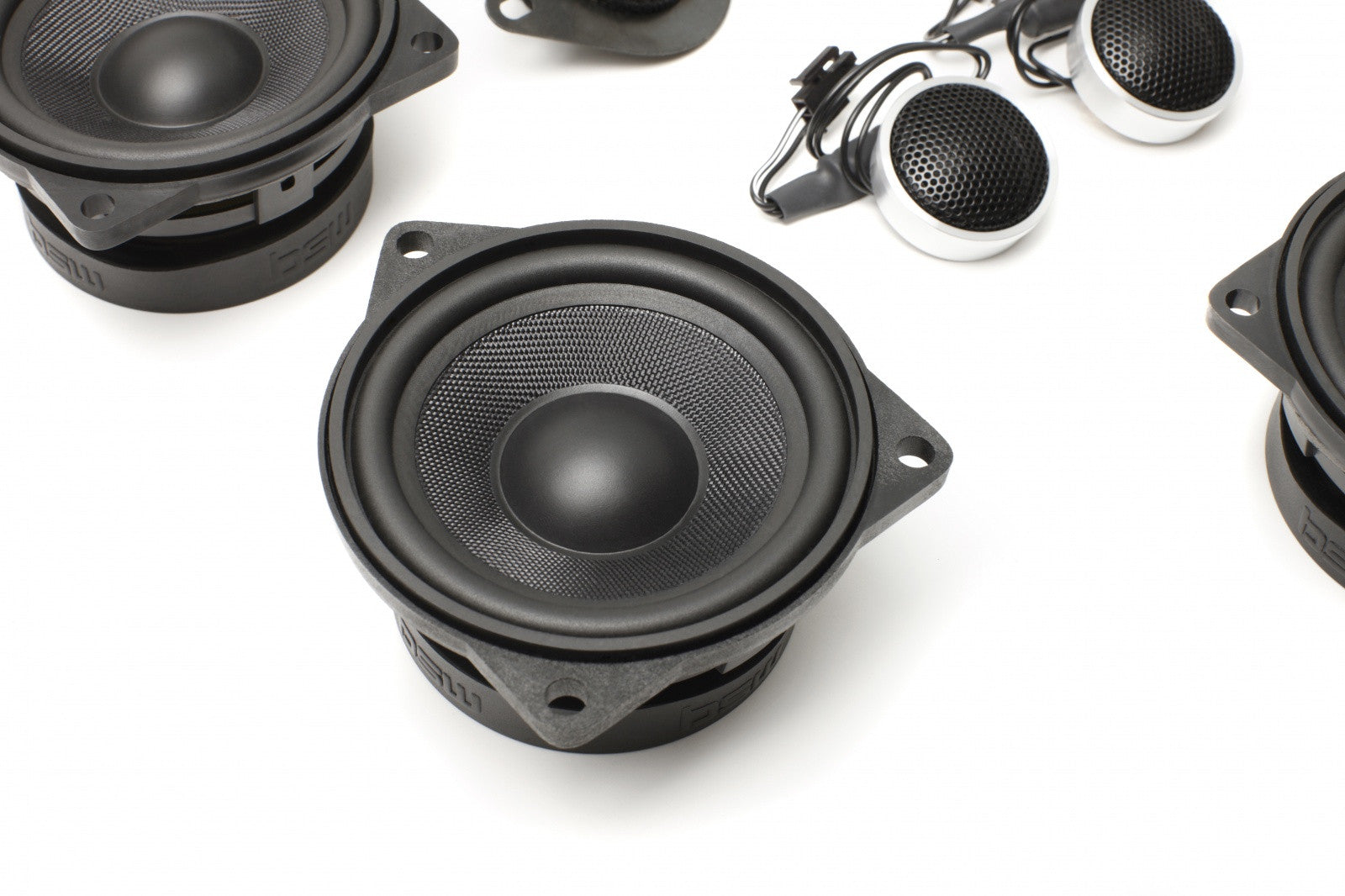 Stage One BMW Speaker Upgrade for E60/E61 Sedan/Wagon with Premium Top Hi-Fi