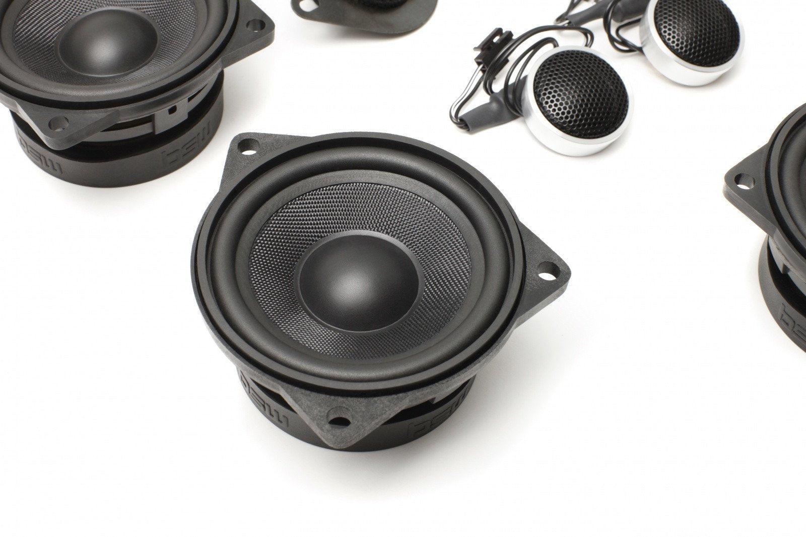 Stage One BMW Speaker Upgrade for E60/E61 Sedan/Wagon with DIRAC / EPS