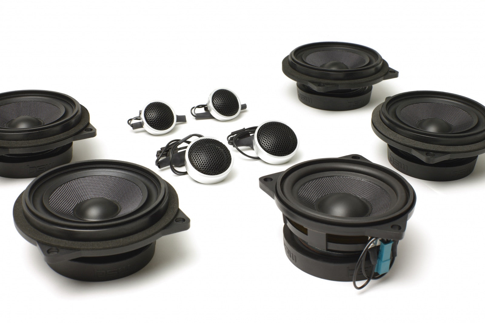Stage One BMW Speaker Upgrade for E64 Convertible with Premium Top Hi-Fi