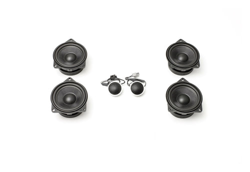 Coaxial Stage One BMW Speaker Upgrade for E70/E71 X5/X6 with Base Audio