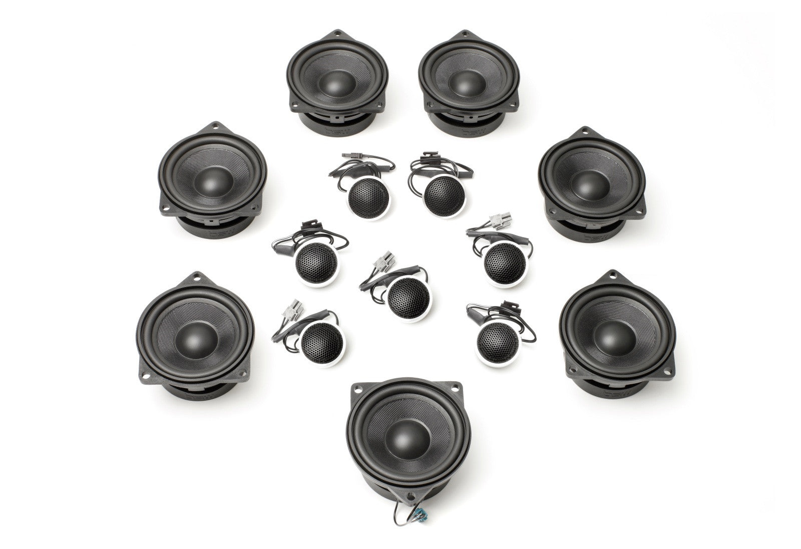 Stage One BMW Speaker Upgrade for E70/E71 X5/X6 with Premium Top Hi-Fi