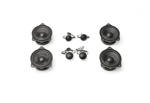 Stage One BMW Speaker Upgrade for E83 X3 with Premium Top Hi-Fi