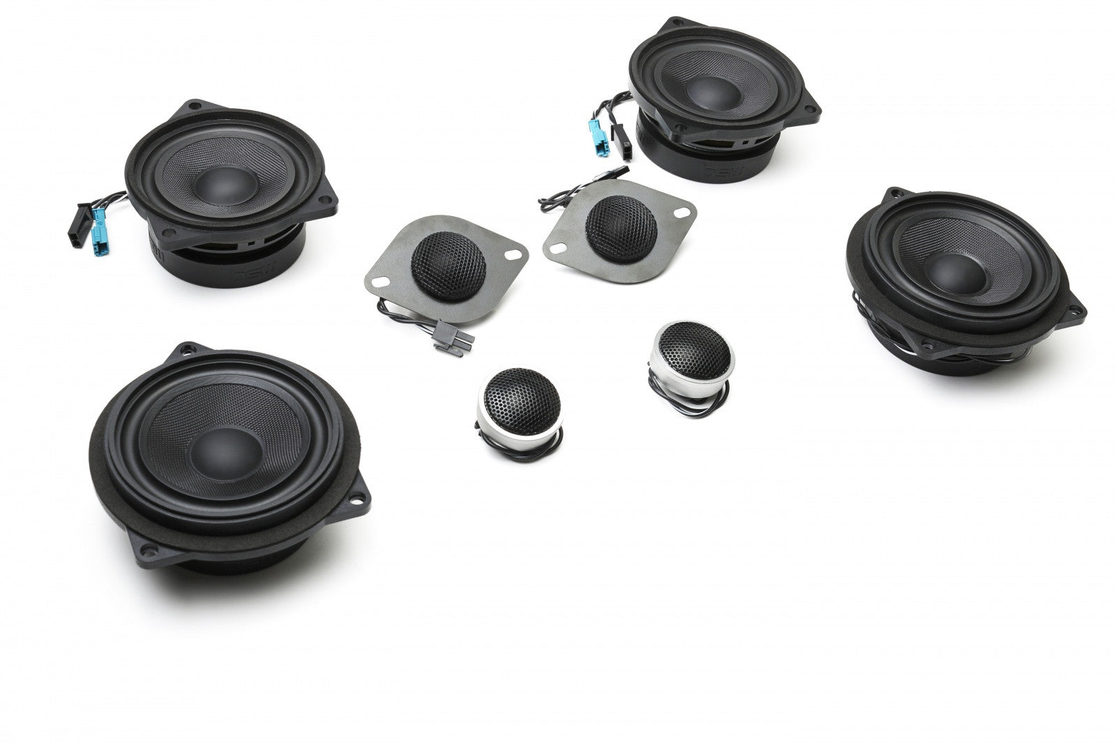 Stage One BMW Speaker Upgrade for E90 Sedan with Base Audio (Including Separate Tweeters)