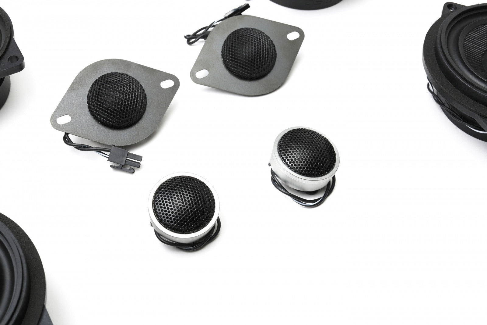 Stage One BMW Speaker Upgrade for E90 Sedan with Standard Hi-Fi