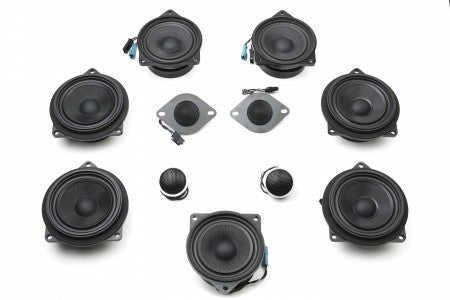 Stage One BMW Speaker Upgrade for E90 Sedan with Premium Top Hi-Fi