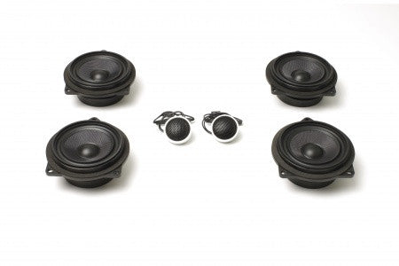 Stage One BMW Speaker Upgrade for E91 Convertible with Base Audio
