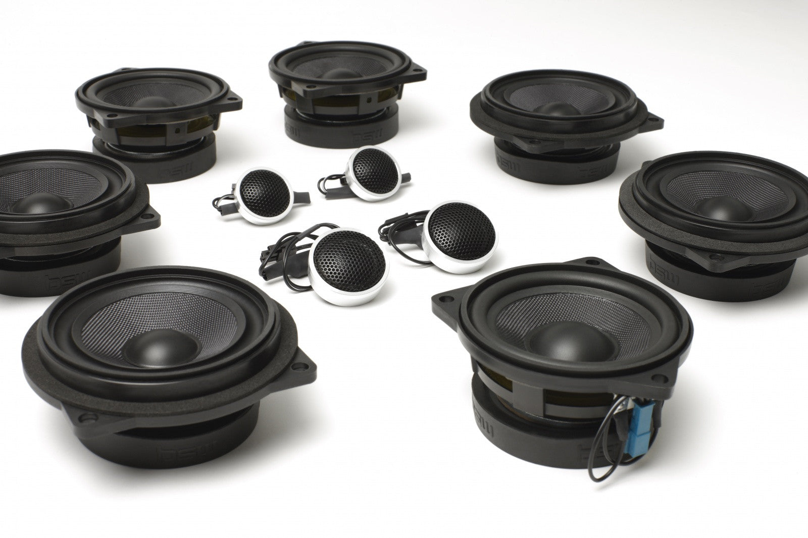 Stage One BMW Speaker Upgrade for E92 Coupe with Premium Top Hi-Fi