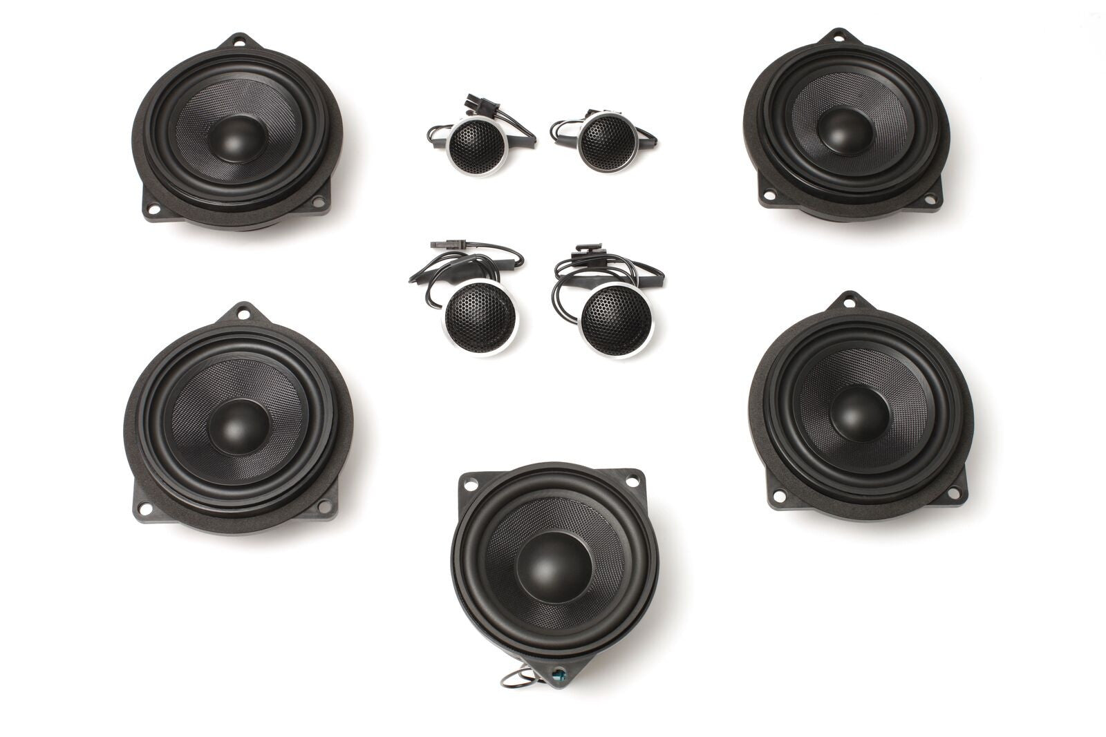 Stage One BMW Speaker Upgrade for E93 Convertible with Premium Top Hi-Fi