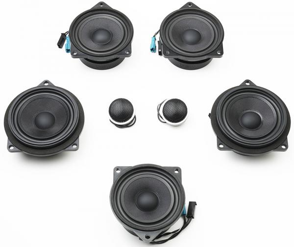 Stage One BMW Speaker Upgrade for F33/F83 Convertible with Standard Hi-Fi